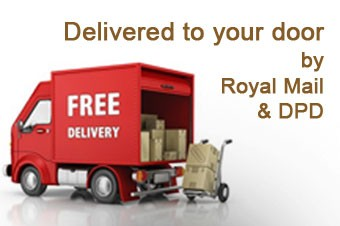 Delivered to your door by Royal Mail/ DPD